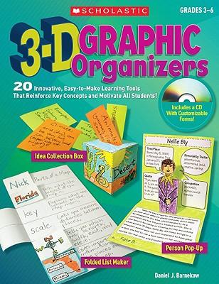 3-D Graphic Organizers By Barnekow, Daniel J.